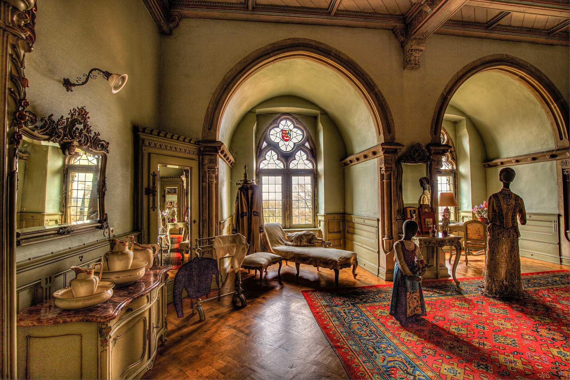 Het leven van de vorsten in de Burcht Bentheim