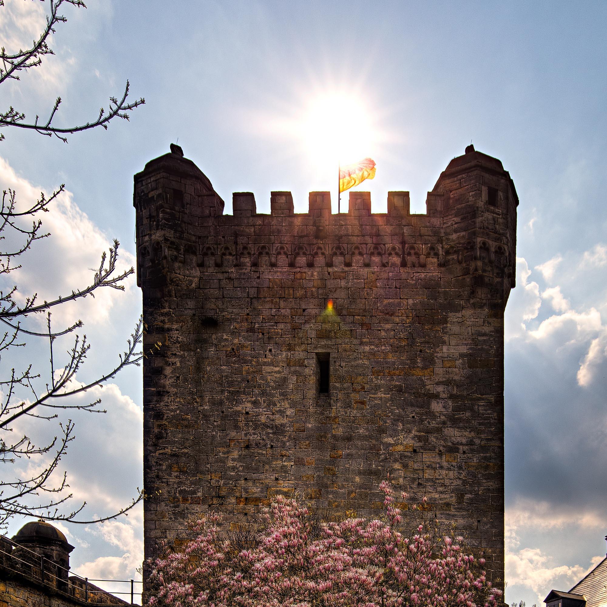 De Kruittoren van kasteel Bentheim