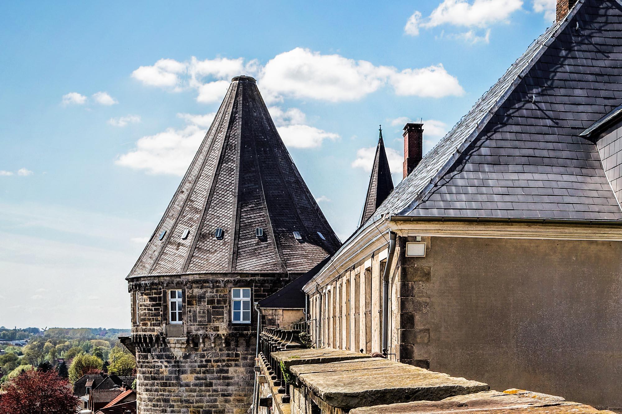 De Batterijtoren van kasteel  Bentheim © Andreas Richter