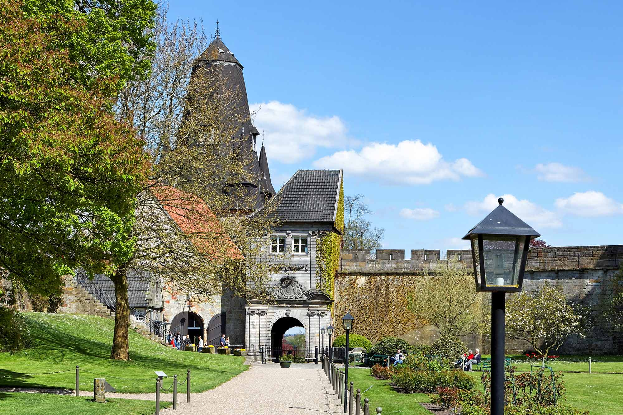Ingang tot kasteel Bentheim  ©Andreas Richter