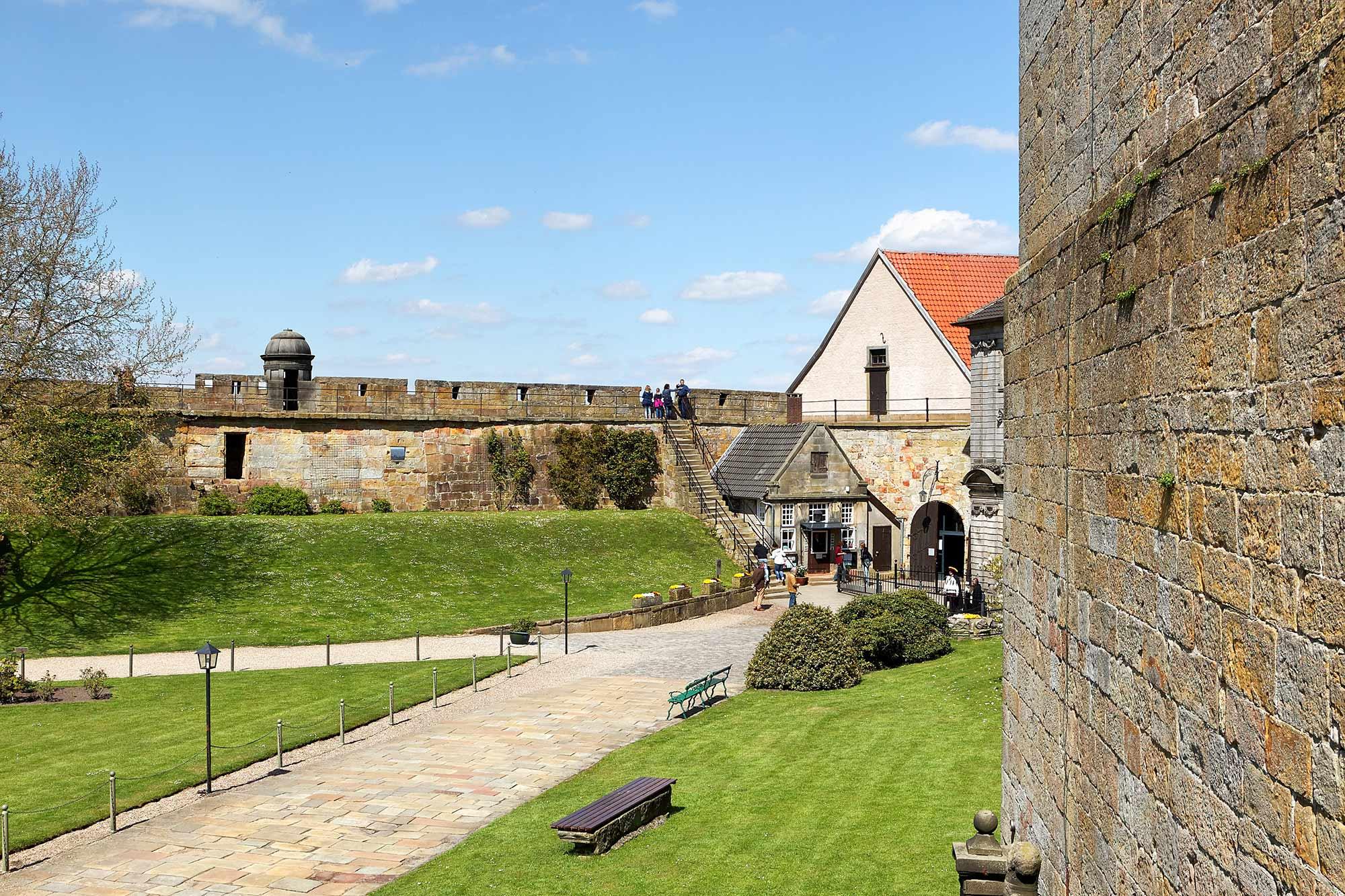 Weergang van kasteel Bentheim ©Andreas Richter