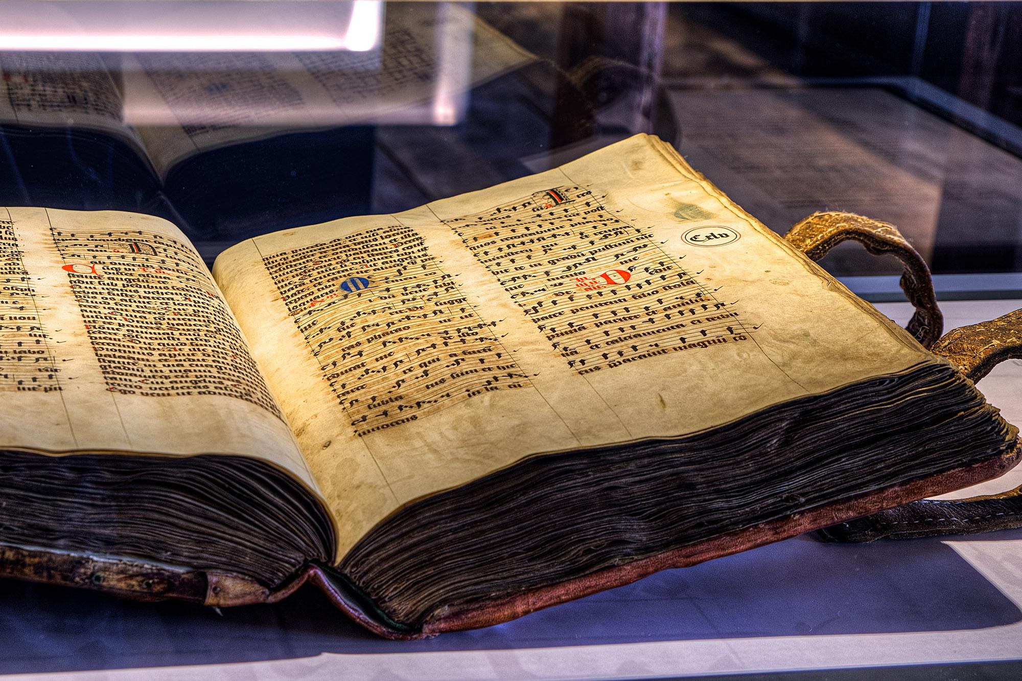 Missale Romanorum · liederenhandschrift uit de 15 de eeuw