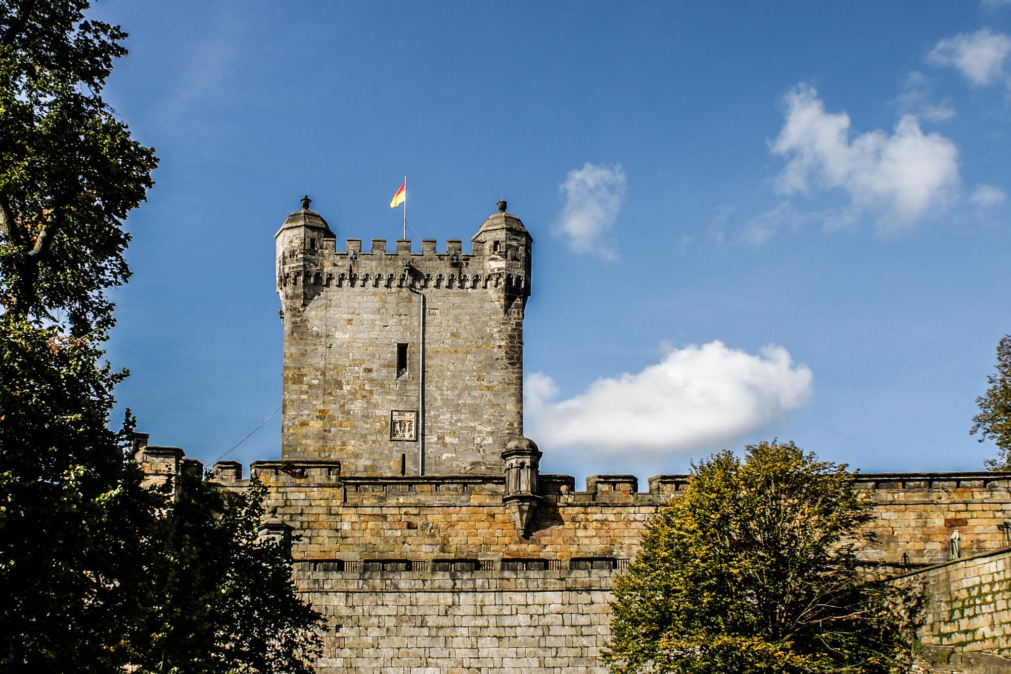 De Kruittoren van kasteel Bentheim © burgbentheim.de